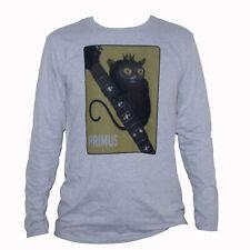 Primus T shirt Ween Melvins Punk Rock Metal Raglan 3/4 Sleeve Graphic Band Tee