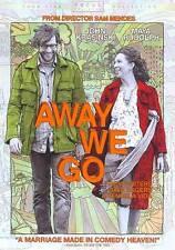 AWAY WE GO (DVD, 2009) NEW