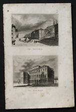 1836:ROMA,Piazza di Spagna-Palazzo Barberini.AUDOT.2Acc