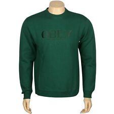 $52.00 Obey Milan Crewneck (green / dark green) 111600012Grn