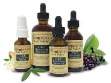 Woodstock Herbal Products C & F (Cold & Flu) Organic Seasonal Support
