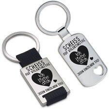 """Lieblingsmensch® Schlüsselanhänger: """"Scheiss auf Valentinstag..."""""""
