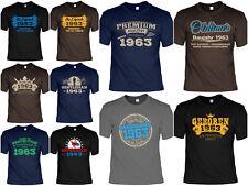 T-Shirt 55 Geburtstag - 55 Jahre Coole Sprüche Motive Geburtstag 1963 - Geb 55