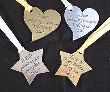Personalised Gift Tags, Weddings Birthdays, Anniversary's, Christmas