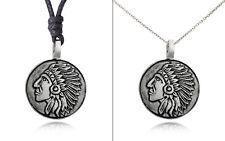 Unique Mayan Sun Symbol Silver Pewter Charm Necklace Pendant Jewelry