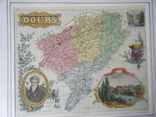 GRAVURE COULEUR DE VUILLEMIN 19ème  DOUBS