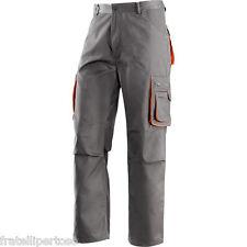 Pantaloni da lavoro GB  uomo in cotone  multitasche estivi leggeri comodi