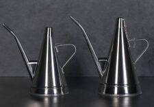 Stainless Steel Olive Oil Pourer Dispenser Cooking Oil Jar Can Bottle Portuguese