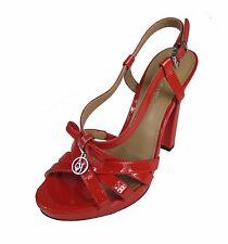 ARMANI JEANS Damen,Women,High Heels,Schue,Shoes,Pumps,Absatz,Stöckel,NEU,Rot,Red