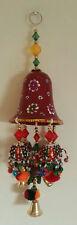 Elephant XMas Tree Gift Bell Christmas Indian Handicraft Wall  Door Hanging Ball