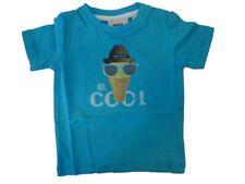MEXX Niño Bebé Camiseta SCUBA AZUL TALLA 56-68