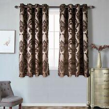 Window Treatments Curtains Jacquard Woven Translucidus Home Drapes Decor Curtain