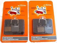 Hope Tech X2 Brake Pads x2 pairs Premium Dual Compound Semi Metallic Alligator
