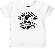 Future Greaser Logo Bébé T-shirt De Sourpuss, États-Unis