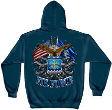 Erazor Bits Hooded Sweatshirt Sweater Hoodie US USAF Air Force Navy Defending