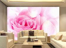 3D Elégant Rose 33 Photo Papier Peint en Autocollant Murale Plafond Chambre Art