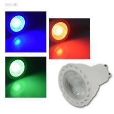 LED Strahler GU10 LDS-50 rot/grün/blau 230V/5W Leuchtmittel Spot Birne einfarbig