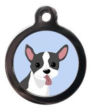 French Bulldog Custom Pet Tags - Dog ID Collar Tag - ENGRAVED FREE-Dog Name Tag