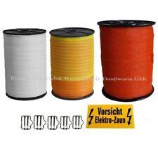 Weidezaunband 10/20/40 mm Länge,Breite,Farbe wählbar,weiß/gelb-orange,orange