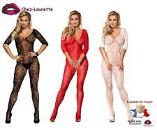 Combinaison bodystocking catsuit résille ultra sexy!! Nombreuses couleurs CAT005