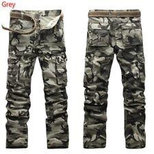 Hommes Camouflage Pantalon Cargo Décontracté Militaire Multi Poche Grande Taille