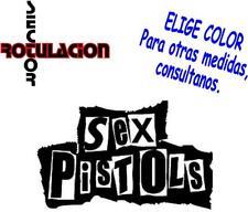 ref1659- Sex Pistols Music Heavy Metal ROCK BAND PEGATINA VINILO STICKER DECAL