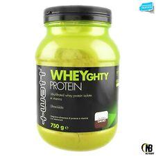+Watt Wheyghty proteine 750gr whey isolate ultrafiltrate con vitamine e bcaa