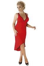 Kleid lang in rot M/1073 von Andalea