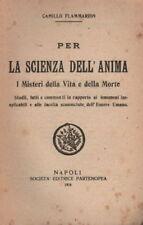 SCIENZA DELL'ANIMA_MISTERI DELLA VITA E DELLA MORTE_'24