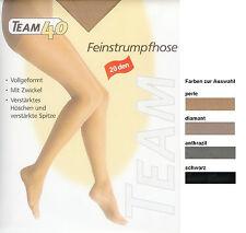 FEINE Strumpfhose, (Komfort-)Zwickel, transparent - 20den, div Fbn+Gr.  *TEAM*