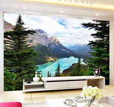 Peyto Lake Hills Canada Full Wall Mural Photo Wallpaper Print Kids Home 3D Decal