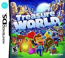 BRAND NEW Sealed Treasure World (Nintendo DS, 2009)