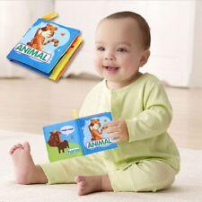 0-3 Years Newborn Early Development Cloth Books Educational Fabric Baby Toys