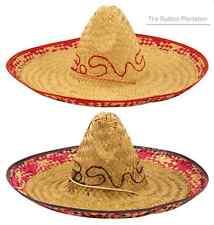 Grande mexicano Sombrero Sombrero Lejano Oeste BANDIT Disfraz WEST gringo