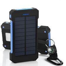 LOT 15 300000mAh Dual USB Portable Solar Battery Charger Power Bank For Phone EK