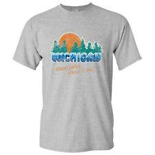 Michigan Great Lakes Great Times Basic Cotton T-Shirt