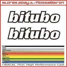 KIT 2 ADESIVI BITUBO FILETTO mm.200 x 44 - STICKERS AUFKLEBER PEGATINAS DECALS