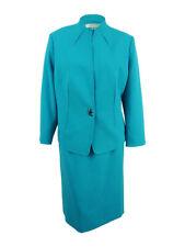 Tahari ASL Women's Plus Size Swivel-Button Skirt Suit