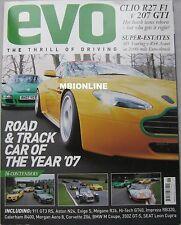 EVO magazine 06/2007 No 105 featuring Audi, Peugeot, Renault, Jaguar XJ13, BMW