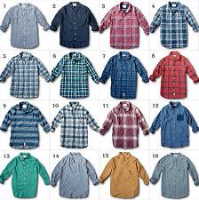 Nuevo con Etiqueta Hollister By Abercrombie Camisa de Cuadros Popelina