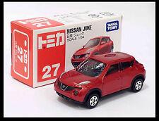 TOMICA #27 NISSAN JUKE 1/64 TOMY 2010 DEC NEW MODEL DIECAST CAR