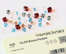 Original SWAROVSKI 6328 XILION Bicone Top Gebohrt Kristall Anhänger* alle Farben
