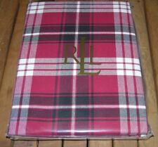 New ListingRalph Lauren NICOLAS TARTAN Black, Red U0026 Ivory Plaid Tablecloths  Or Placemats