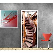 Stickers porte ponton escalier sur bateau 857