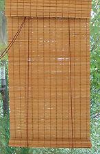 BAMBUSROLLO NRU Rollo mit Blende Bambus Maßanfertigung Maßrollo Holzrollo Rollup