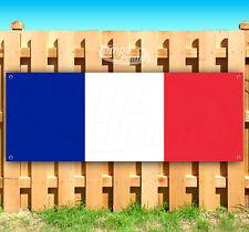 """France Flag Advertising Vinyl Banner Flag Sign Usa 15"""" 18"""" 20"""" 30"""" 48"""" 52"""""""