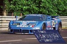 Calcas Bugatti EB 110 Le Mans 1994 34 1:32 1:43 1:24 1:18 slot decals