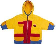 Kids Childs Girls Jacket Reflective Teflon Coated Yellow Red Blue Size 24, 2, 3