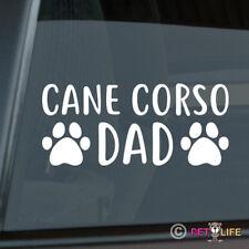 Cane Corso Dad Sticker Die Cut Vinyl - italian mastiff italiano dog