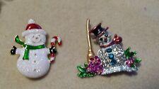 Muñeco De Nieve Broche, regalo de Navidad.